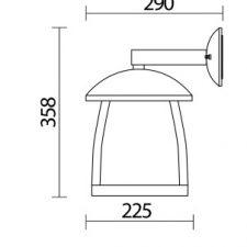 چراغ حیاطی sh-4501