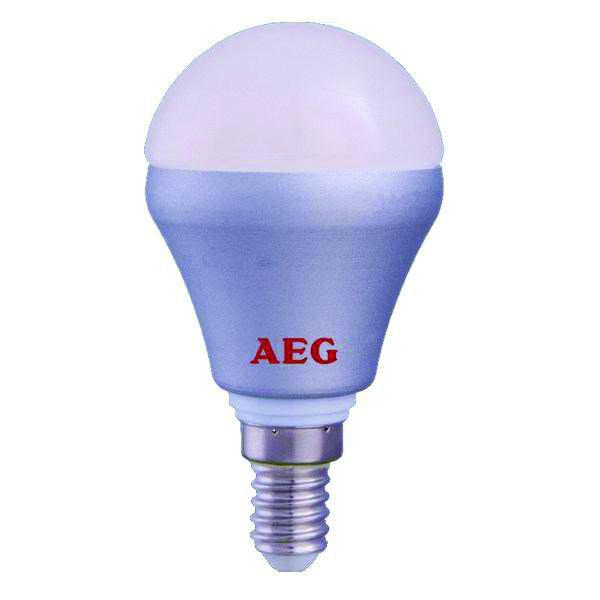 لامپ حبابی سرپیچ شمعی 4 وات AEG مدل Mini 320