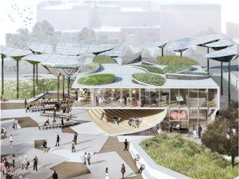 طرحی به نام اکوسیستم شهری، برنده جایزه پارک شیر کوهی