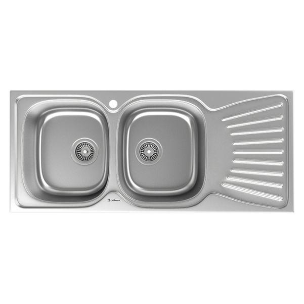 سینک توکار ظرفشویی داتیس کد DB-125