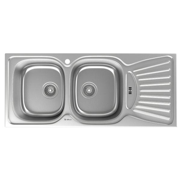 سینک توکار ظرفشویی داتیس کد DB-127