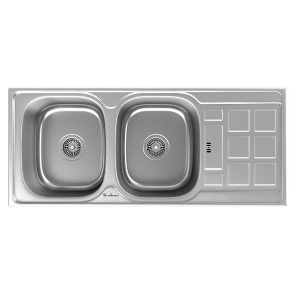 سینک توکار ظرفشویی داتیس کد DB-134