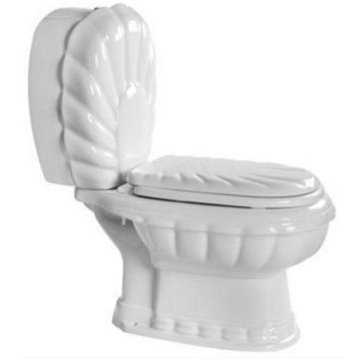 توالت فرنگی مروارید مدل زمرد خروجی به کف