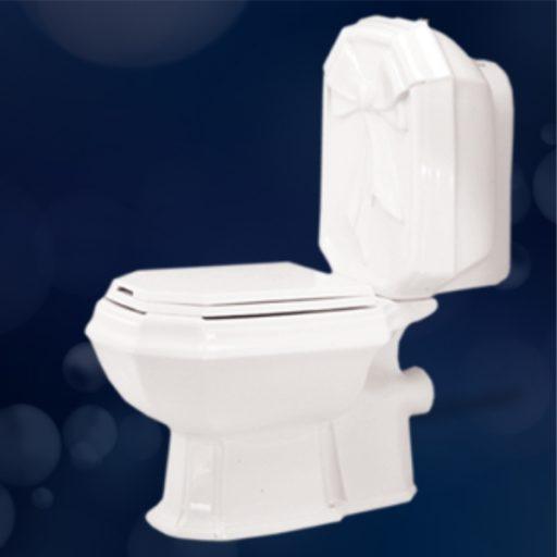 توالت فرنگی مروارید مدل برلیان