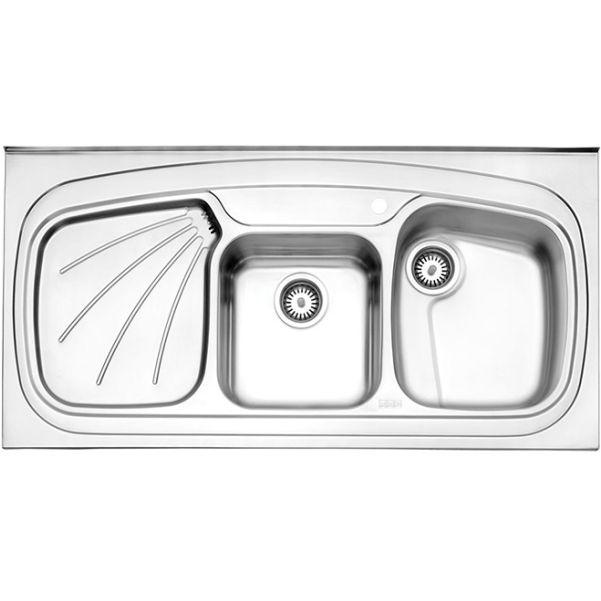 سینک روکار استیل البرز مدل ۶۱۴/۶۰