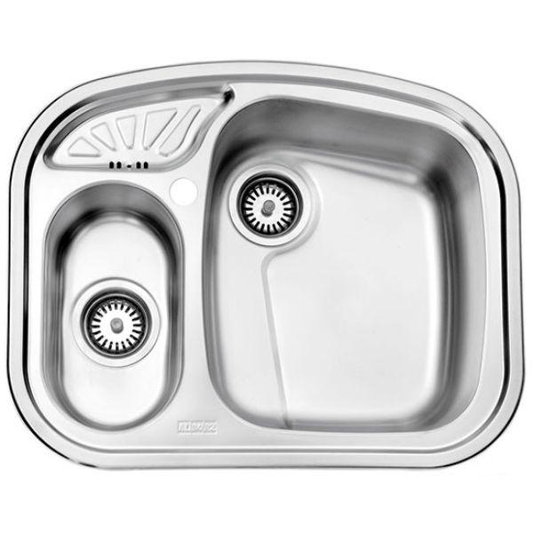 سینک توکار استیل البرز مدل ۶۰۵