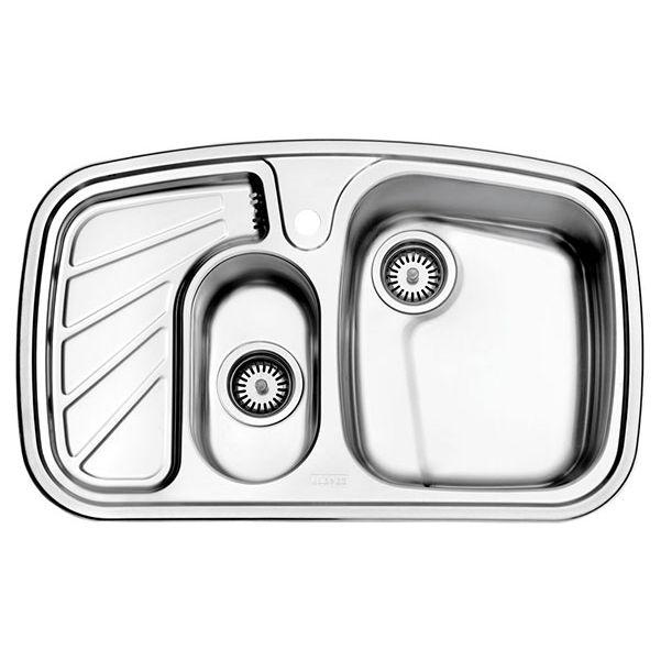 سینک توکار استیل البرز مدل ۶۰۸
