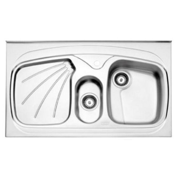 سینک روکار استیل البرز مدل ۶۱۰/۶۰