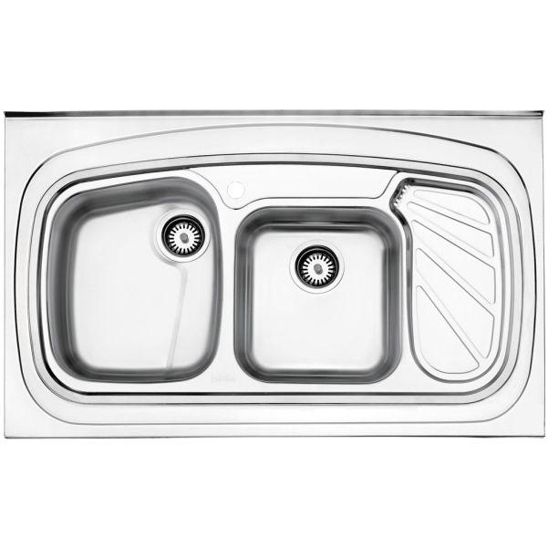 سینک روکار استیل البرز مدل ۶۱۱/۶۰