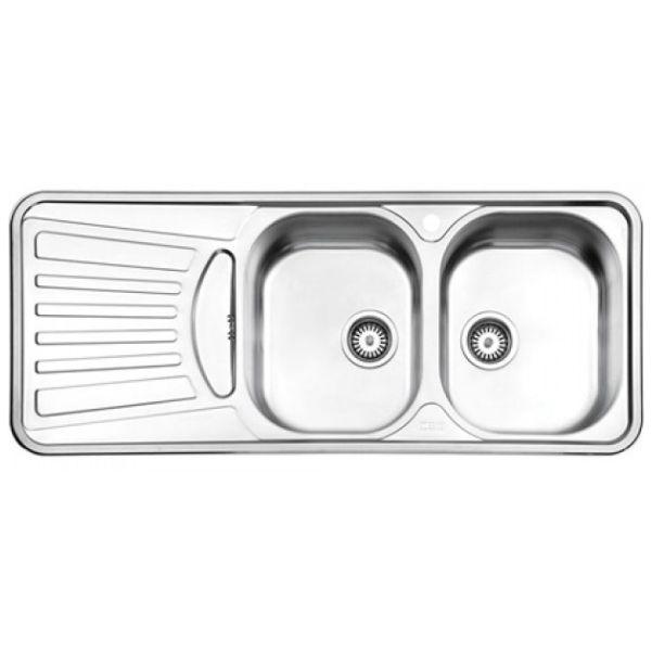 سینک توکار استیل البرز مدل ۷۲۵
