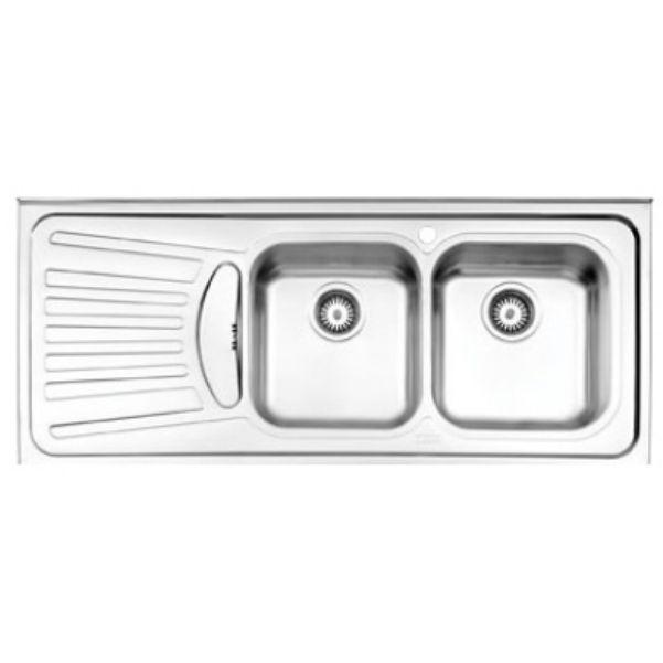 سینک روکار استیل البرز مدل ۷۲۵/۵۰