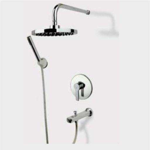 شیر حمام توکار راسان مدل تنسو کلاس ۱