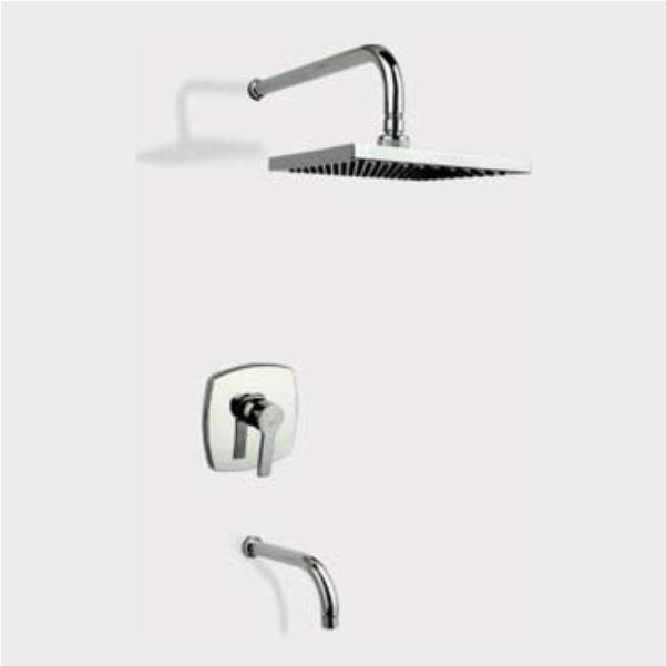 شیر حمام توکار راسان مدل فلت کلاس ۲