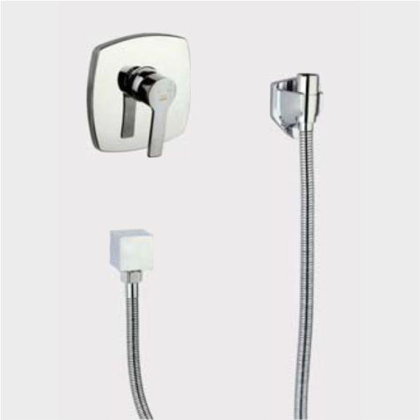 شیر توالت توکار راسان مدل فلت