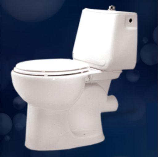 توالت فرنگی مروارید مدل مرجان خروجی به دیوار