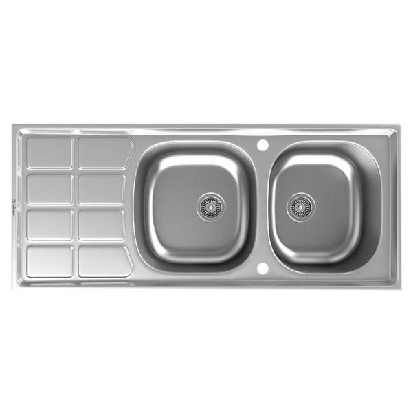 سینک توکار ظرفشویی داتیس کد DB-135