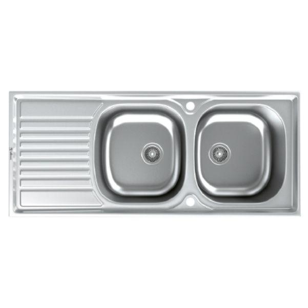 سینک توکار ظرفشویی داتیس کد DB-137