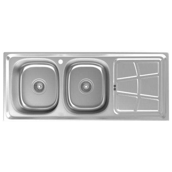 سینک توکار ظرفشویی داتیس کد DB-140
