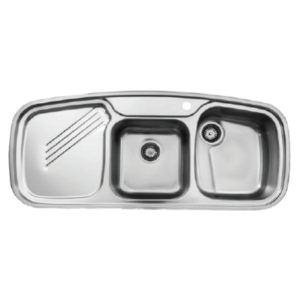 سینک توکار استیل البرز مدل ۶۱۴NEW