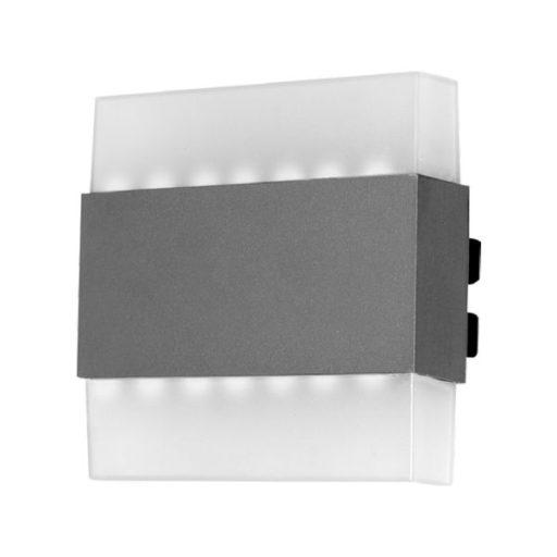چراغ دیواری دو طرفه دکوراتیو ۷ وات شعاع مدل SH-8093
