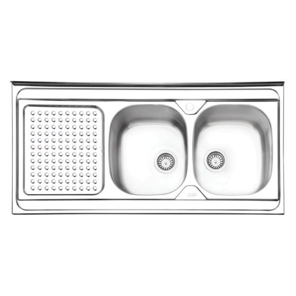 سینک ظرفشویی ایلیا استیل مدل ۱۰۲۵