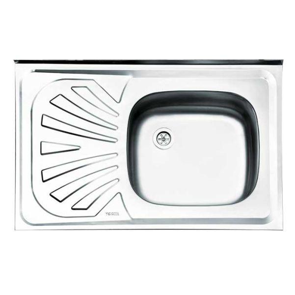 سینک ظرفشویی روکار کلاسیک ایلیااستیل کد 111
