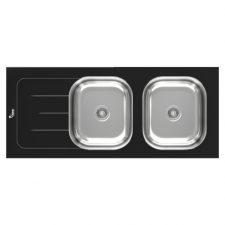 سینک توکار شیشه ای ظرفشویی سیمر کد SG-120B