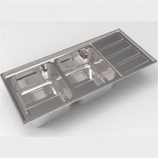 سینک ظرفشویی استیل البرز مدل 764