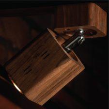 چراغ سقفی اکو مکعبی بازویی شعاع SH-ECO-1302