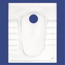 توالت ایرانی آرمیتاژ مدل آدنا نیم گود
