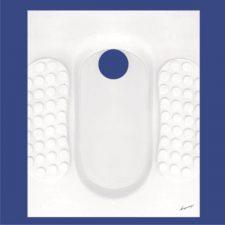 توالت ایرانی آرمیتاژ مدل آوا نیم گود