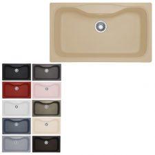 سینک ظرفشویی مکاپا مدل لنوکس 90 Lenox